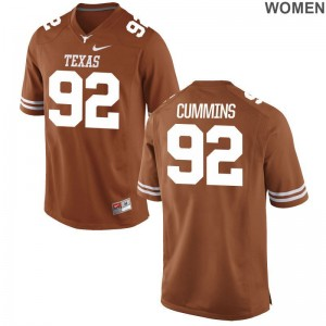 UT Max Cummins Jerseys S-2XL Game Womens - Orange