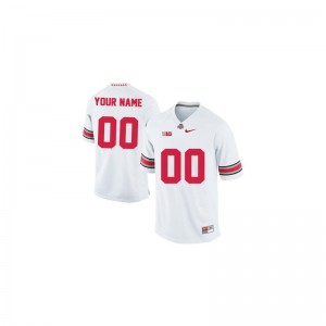 For Men Customized Jerseys S-3XL Ohio State Buckeyes White Limited