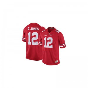 Ohio State Cardale Jones Game Men Jerseys - #12 Red
