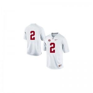 Bama Derrick Henry For Men Limited Player Jerseys #2 White