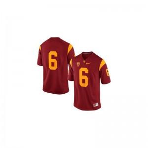 Trojans Jerseys Cody Kessler #6 Cardinal Game Mens