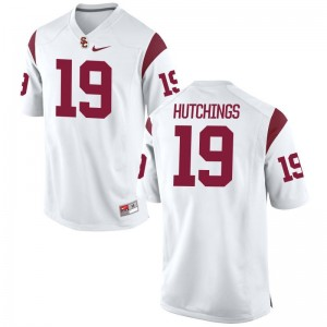 Michael Hutchings USC Jerseys S-XL Limited White Youth