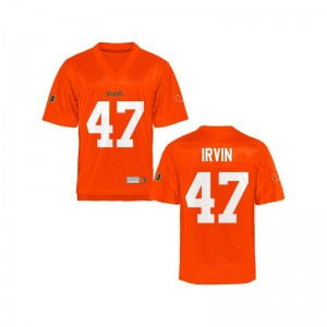 University of Miami Michael Irvin Mens Limited Jerseys S-3XL - Orange