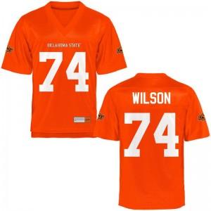 OSU Alumni Michael Wilson Limited Jerseys Orange Men