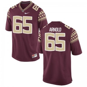 Game Mike Arnold Jersey Florida State Garnet Men