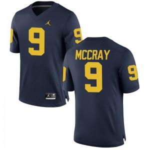 Mike McCray Men Jersey Wolverines Game - Jordan Navy