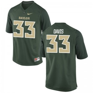 Miami Mitch Davis Player Jerseys Game Green For Men Jerseys