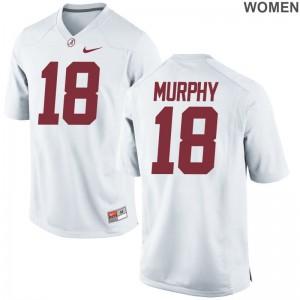University of Alabama Montana Murphy Womens Game White Jersey