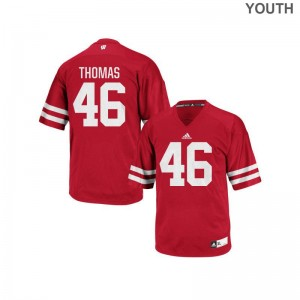 UW Kids Replica Nick Thomas Jersey - Red