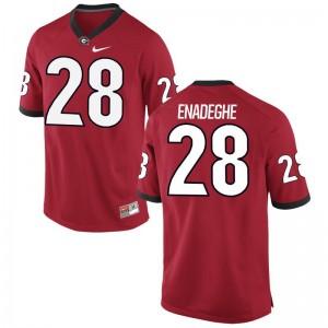 UGA Bulldogs Jerseys of Otamere Enadeghe Men Limited - Red