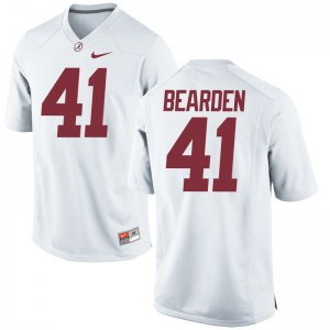 Limited For Men Bama College Jersey of Parker Bearden - White