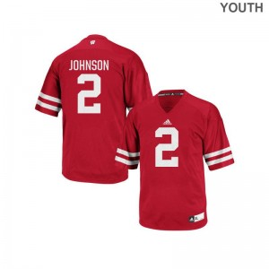 Wisconsin Badgers Replica Patrick Johnson Youth(Kids) Jerseys - Red