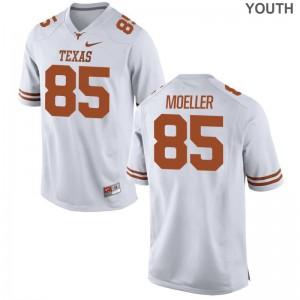 Longhorns Philipp Moeller Limited For Kids NCAA Jersey - White