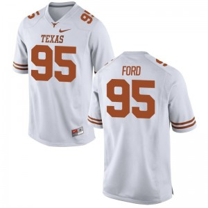 Poona Ford Mens High School Jersey Limited University of Texas - White