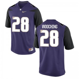 University of Washington Psalm Wooching Jersey Purple Men Game