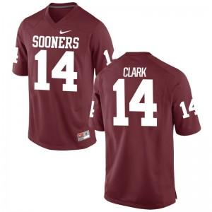 Reece Clark Men College Jersey Game Crimson Oklahoma Sooners