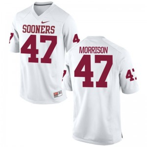 Reece Morrison College Jerseys Men Sooners White Game