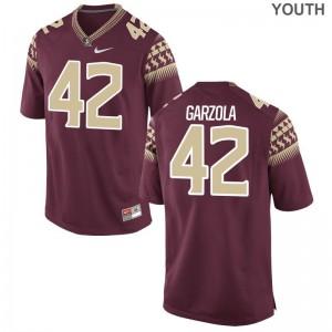 Richard Garzola FSU Jersey Kids Garnet Limited Jersey