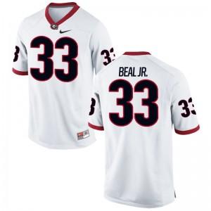 Georgia Game Robert Beal Jr. Mens White Jersey S-3XL