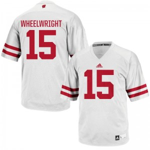 Wisconsin Jersey of Robert Wheelwright For Men White Authentic