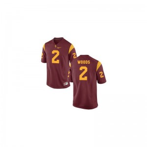 Robert Woods Mens Jersey Game USC Trojans Cardinal