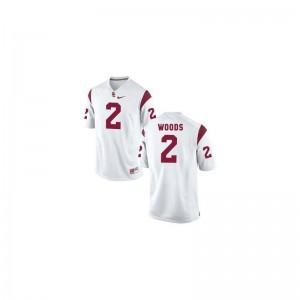 Limited Robert Woods NCAA Jerseys Men USC - White