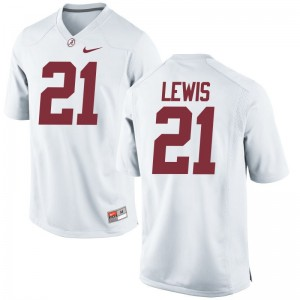 University of Alabama College Jersey Rogria Lewis Limited Women - White