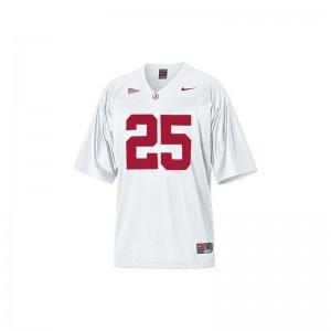 Rolando McClain University of Alabama Mens Jersey White Game Jersey
