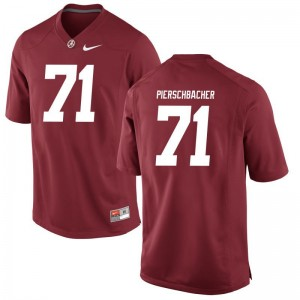 Alabama Crimson Tide Ross Pierschbacher Men Limited College Jersey Red