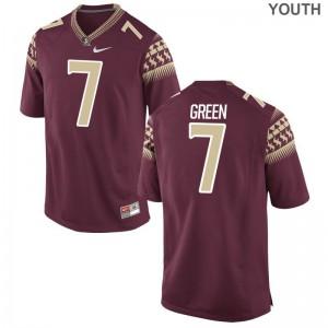 Ryan Green Kids FSU Jerseys Garnet Limited Jerseys