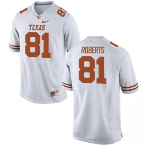 Ryan Roberts UT Jersey Youth White Game