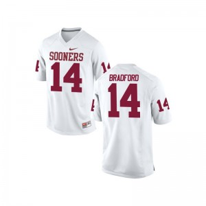 Sam Bradford Sooners Mens Game High School Jerseys - White