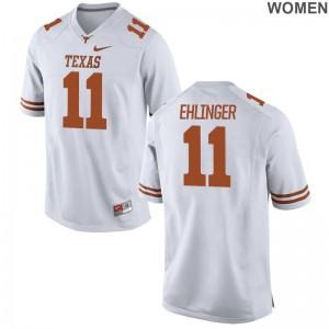Texas Longhorns Sam Ehlinger Ladies Limited Jerseys White