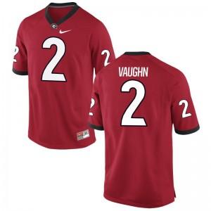 Sam Vaughn Georgia Youth(Kids) Jerseys Red Limited Jerseys