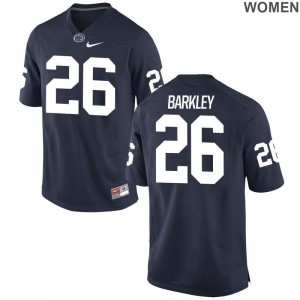 Saquon Barkley Nittany Lions NCAA Jersey Women Limited Navy