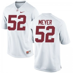 Scott Meyer Alabama College Jersey For Men Game - White