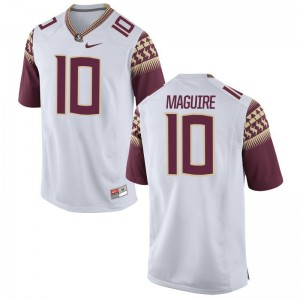 Youth Game High School Florida State Jerseys Sean Maguire White Jerseys