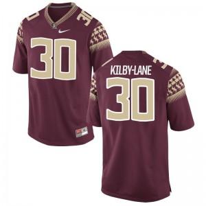 Florida State Sh'Mar Kilby-Lane Garnet For Men Game Player Jerseys