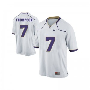 University of Washington Shaq Thompson Men Game White NCAA Jerseys