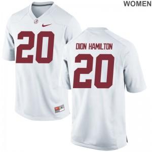 Shaun Dion Hamilton Alabama Women Jersey White Limited Jersey