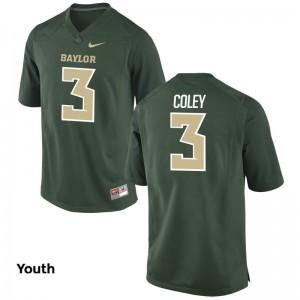 Kids Stacy Coley Jerseys Green Limited Miami Jerseys