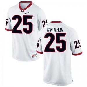 UGA Bulldogs Limited Steven Van Tiflin Men Jersey - White