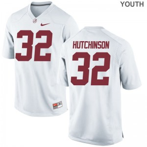 Bama Swade Hutchinson Limited Youth(Kids) Jersey - White