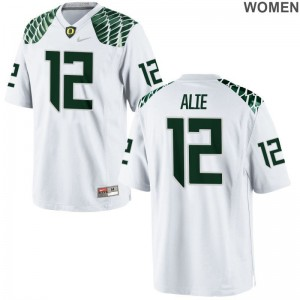 Limited Taylor Alie Player Jerseys Oregon White Womens