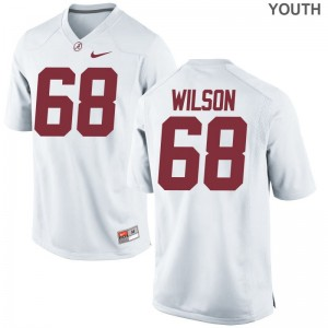 Alabama Taylor Wilson Game Jerseys White Youth