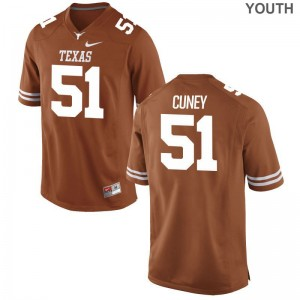 UT Terrell Cuney High School Jersey Limited Youth Orange