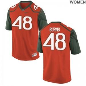 Thomas Burns Women Jerseys S-2XL Miami Limited - Orange