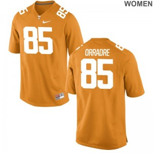 Limited For Women UT Jerseys S-2XL Thomas Orradre - Orange