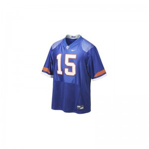 Tim Tebow Jersey Florida Game Kids - Blue Pro Combat