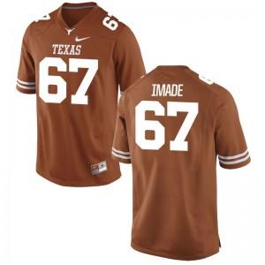 Tope Imade Longhorns High School Jerseys Orange Women Game